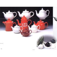 Olla de té de cerámica