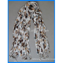 Best selling viscose printed long hijab scarf