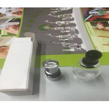 Venta al por mayor de vidrio de cerámica Globe Dual Wax Coil
