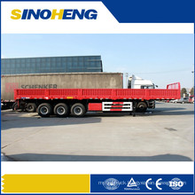 China Best Quality 13m Side Wall Semi Trailer Exported to Djibouti