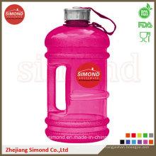 2.2L BPA geben Großhandels-PETG Plastikwasser-Flasche mit Handgriff frei
