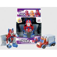 B / O transformar brinquedo carro robô para menino (h6771005)