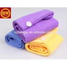 Multicolor Spa Toalha Microfiber Toalha Quick Dry Cabelo Magia Turbante Envoltório Chapéu