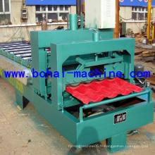 Machine de construction / Machine à former des rouleaux de carreaux glacés