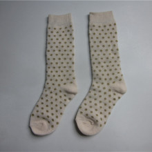 2017 Emas Lurex Dot Jacquard Socks