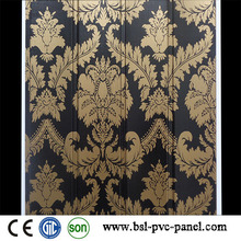 Panel de pared laminado de la onda del PVC de los 25cm 2015 en China