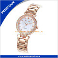 Diamond High End Quartz Stainless Steel Gold Watch