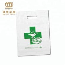 Saco de empacotamento de compra biodegradável biodegradável feito sob encomenda do amido de milho 100% compostable do PE