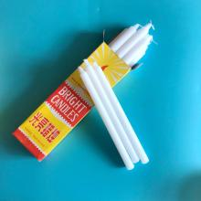 White Stick Wax Bright Candle Velas