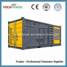 Cummins 400kw / 500kVA Tipo do recipiente Gerador elétrico da potência com motor 4-Stroke Bom desempenho Diesel que gera a geração de poder