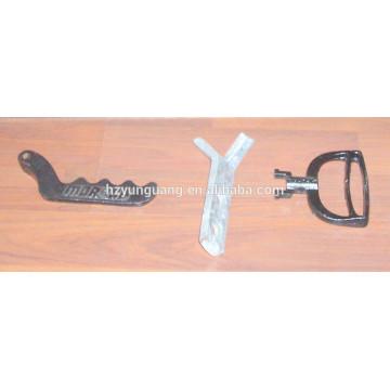 herramientas de acero de revestimiento galvanizado y negro fijación de hardware de la herramienta de sujeción herramientas de recubrimiento galvanizado en caliente hardware placa de empaquetadura