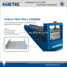 Linha de produção de bandeja de cabo de alta qualidade, máquina de bandeja de cabo de malha