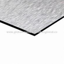 Silver Brush Finished Aluminum Composite ACP Sheet