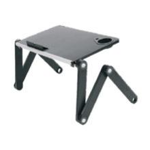 "Laptop Desk Alu Panel Foldable Height Adjustable Upto 17"" (T4)"