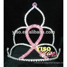 Coroas de fita de cristal de concurso grande