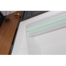 Industrial electronic waterproof heavy-duty roller blinds with light color