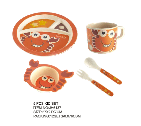 Baby Utensils 5 PCS Dishes