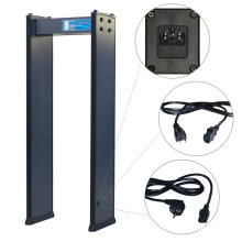 Alarm Counter Record High Adjustable 200 Level Security Digital Metal Detector