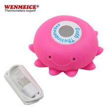 Termómetro de agua de juguetes de baño para bebés con batería recargable
