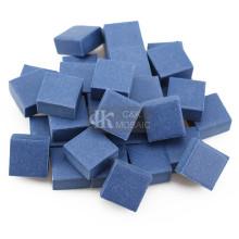 Azulejo de mosaico de cerâmica azul para decoração ao ar livre