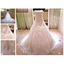 изысканное свадебное платье с самым лучшим ценой