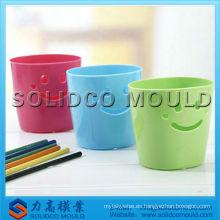 molde de cilindro de pluma de plástico
