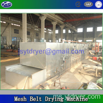 Mesh Belt Dryer Machine untuk Turnip Putih