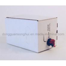 Saco de vinho em caixa / saco de suco em caixa com bico