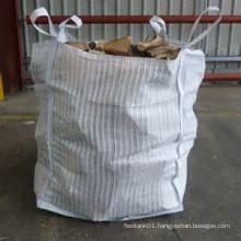 PP Mesh Ventilated Jumbo Bag for Packing Firewood
