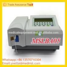 MSLBA05 Best Price Fully automatic biochemistry analyzer with CE ISO