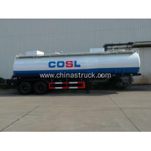 3 axle steel tank semi-trailer lined with plastic