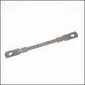 Flat tie / wedge pin for construction formwork