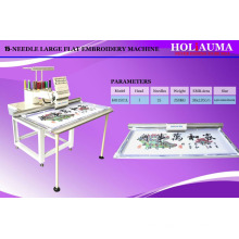HOLiAUMA New Big Flat / Long Dress Embroidery Single Head Computerized Embroidery Machine
