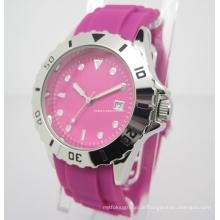Bunte Silikon-Uhr, Geschenk-Uhr (JA-15014)
