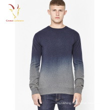2017 New Fashion Mens Cashmere Sweaters with Gradient Color