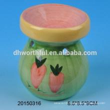 Brûleur à l'huile en céramique à décoration intérieure avec un design simple