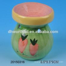 Home decoration ceramic oil burner with simple design