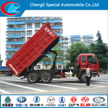 7-10tons Nutzlast 6 * 4 Dongfeng Tipper