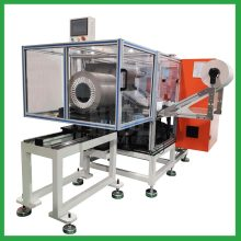 Automatic submersible motor stator paper inserting machine