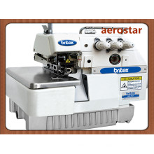 Máquina de coser del Overlock de tres hilos de br-737