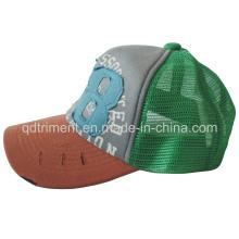 Печать аппликационная губка сетка Snapback Sport Trucker Hat (TMT0082-1)