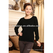 women's crewneck sweater 100% cashmere