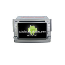 Quad core!car dvd with mirror link/DVR/TPMS/OBD2 for 6.2 inch touch screen quad core 4.4 Android system HYUNDAI H1
