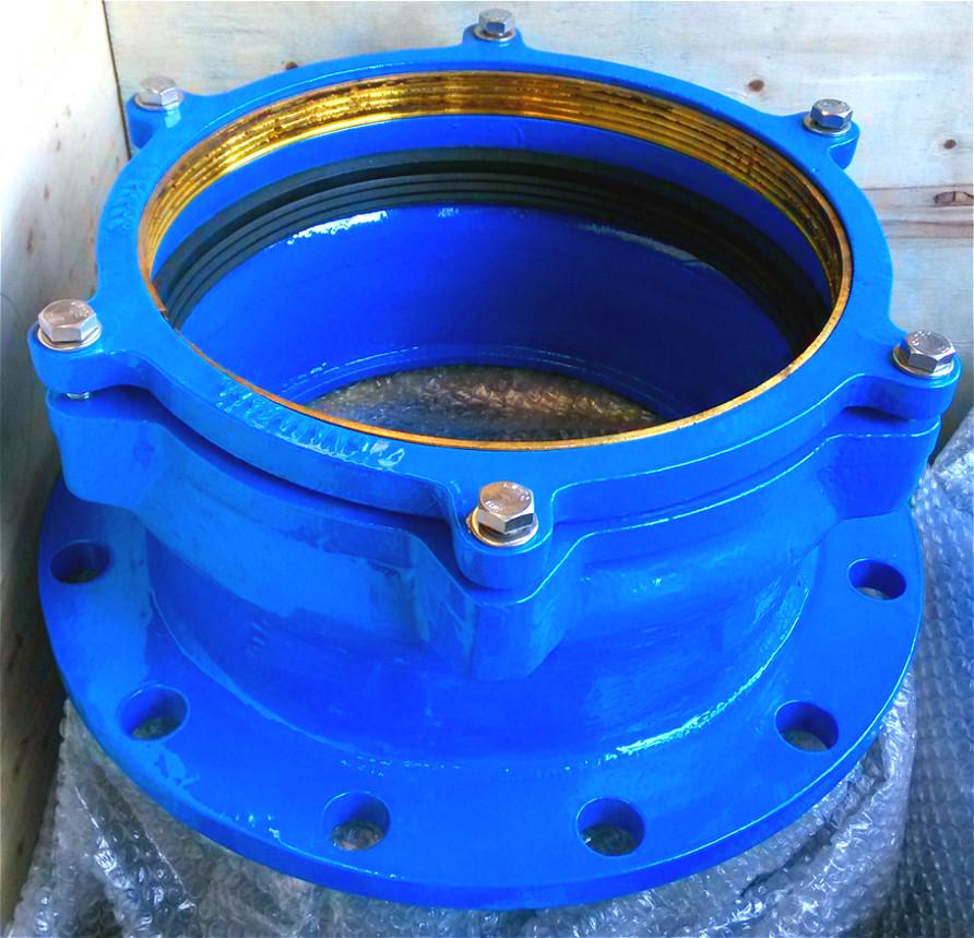 China large diameter pe flange adaptor high quality