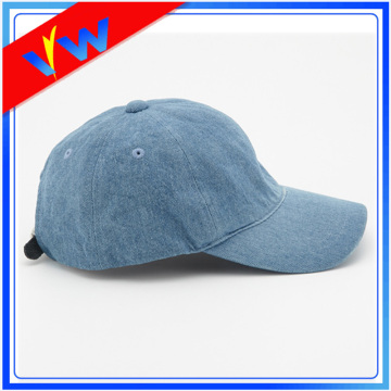 Wholesale Denim 6 Panel Baseball Cap