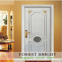 Copetitive Price Door, White Primed Rasied Moldura Craftsman Door