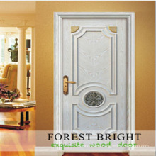 Copetitive Price Door, White Primed Rasied Molding Craftsman Door