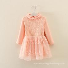 roupas conjunto custume crianças outono roupas de fábrica OEM inverno crianças laranja roupas de lã vestidos casacos