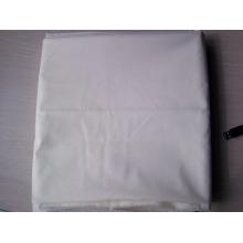 Tela blanca al por mayor del bolsillo del paño grueso y suave del algodón del poliéster de la materia textil / tela blanca de las telas del paño del tc del paño