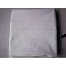 Tissu blanc en gros de textile de coton de polyester de blanchiment / tissu de doublure de tissu de tissu blanc de tc